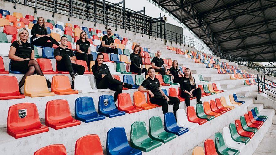Sporta veselības centra darbinieki